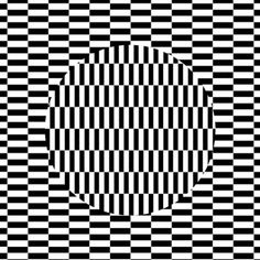 Do you want a LSD trip without taking drugs? Look at the circle in 30 seconds and then look around or your hand.