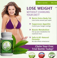 Garcinia (Free Trial) - a magical herb for weight loss. This fruit, also known as tamarind, used for centuries in traditional dishes, helps suppress appetite. The rind of the fruit contains a powerful zhiroszhigatelny component called hydroxycitric acid or the HCA, which allows you to rid the body of excess fat.