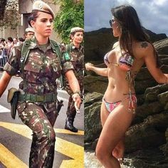 28 Hot Girls Rockin' It In While They're On The Job 28 Hot Girls Rockin' It In While They're On The Job,Militär/Police/Medic 28 Hot Girls Rockin' It In While They're On The Job women inspiration gadot monroe face Mädchen In Uniform, Female Army Soldier, Legging Outfits, Military Girl, Mädchen In Bikinis, Girls In Bikinis, Bikini Swimwear, Military Women, Girls Uniforms