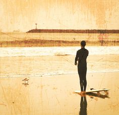 Surf Photography 8x8 Set of 2 Prints Beach by ShannonHowardPrints