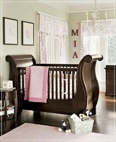 I'm sure it's super expensive, but I love this crib!