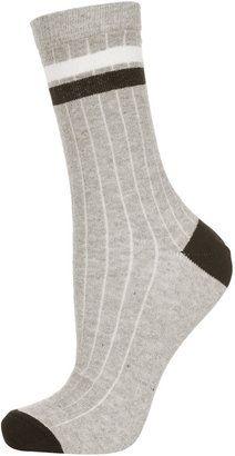 Striped Ankle Socks - ShopStyle