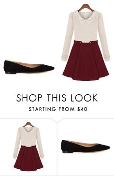 """""""School back them"""" by kerralovely ❤ liked on Polyvore featuring beauty and Chloé"""