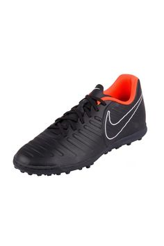3de5f2b55e Chuteira Nike Society Tiempo Legendx 7 Club Tf Preto Laranja