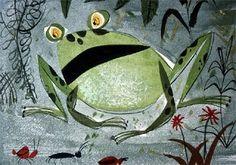 Mary Blair frog