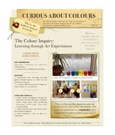Curious About Colours for Blog