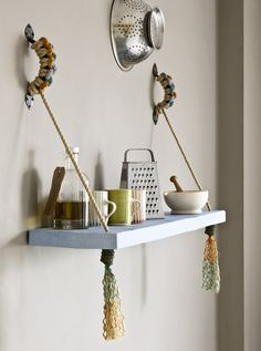 How to Make a Rope Shelf