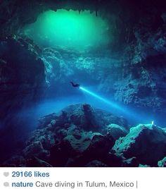 MX cave diving