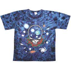 Grateful Dead Space Your Face Tie Dye T-shirt