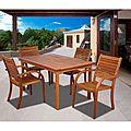 Riviera 5-piece Rectangular Dining Set | Overstock.com