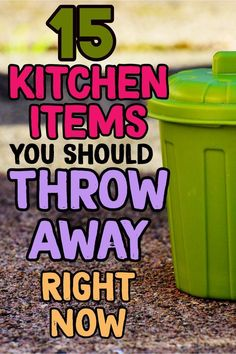 Kitchen organization hacks – declutter and organize your kitchen by throwing away these 15 kitchen clutter items RIGHT NOW. Kitchen organization hacks – declutter and organize your kitchen by throwing away these 15 kitchen clutter items RIGHT NOW.