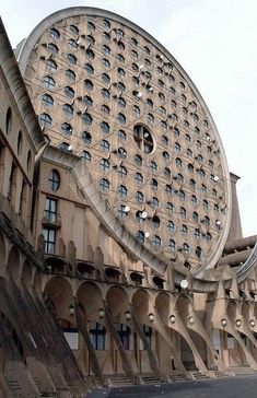 Architecture Unique, Futuristic Architecture, Interior Architecture, Social Housing Architecture, Bamboo Architecture, Unusual Buildings, Amazing Buildings, Noisy Le Grand, Modernisme