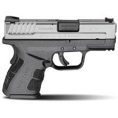 Springfield Armory XD Mod 2 Sub Compact Semi Auto Pistol .45 ACP 3.3 Barrel 10 Rounds Polymer Frame Duo Tone Finish XDG9845SSP