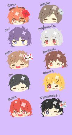 The utaite hell. Vocaloid, Anime Chibi, Kawaii Anime, Anime Art, Otaku, Kagerou Project, Cute Chibi, Cartoon Shows, Original Song
