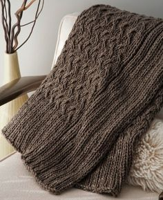 5 Great Knitting Patterns for the Home-can't wait til I am able to make something as beautiful as this <3