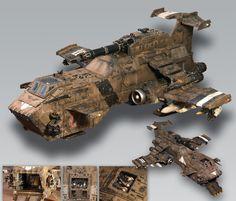 Warhammer 40k | Space Marines | Thunderhawk #warhammer #40k #40000 #wh40k…