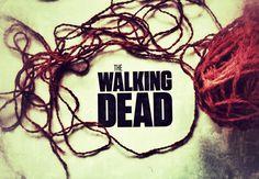 Zombiakowe robótki na drutach i szydełku, czyli co robić oglądając Walking Dead - postapokaliptyczne wzory dziewiarskie na blogu herbimania.com