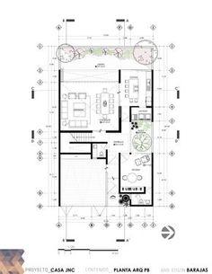 Planos de departamentos 3 niveles en dwg autocad vivienda for Curso de diseno de interiores en linea
