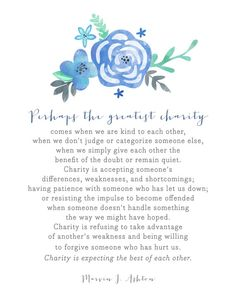 The Greatest Charity Printable — DIGITAL DOWNLOAD 8x10 and 11x14