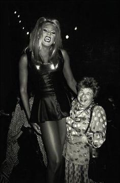 Ru Paul & Dr Ruth, NY 1994