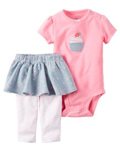 Baby Girl 2-Piece Neon Bodysuit & Tutu Pant Set from Carters.com. Shop clothing & accessories from a trusted name in kids, toddlers, and baby clothes.