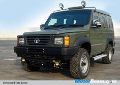 Tata Armoured Sumo
