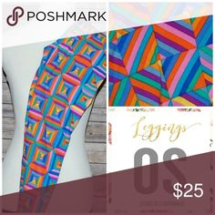 Selling this NEW LULAROE OS leggings on Poshmark! My username is: kelliak. #shopmycloset #poshmark #fashion #shopping #style #forsale #LuLaRoe #Pants
