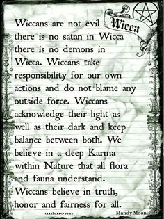 Wicca, I'm not a Wiccan witch but it needs said that they are not evil.no more than any other witch. Love & Light )o( Wiccan Witch, Wicca Witchcraft, Spiritual Beliefs, Spiritual Path, Practical Magic, Book Of Shadows, Spelling, In This World, Mystic