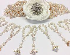 25 pz Angel perla prima comunione favorisce di AVAandCOMPANY