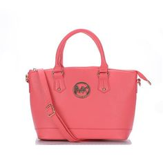 Fashion Michael Kors Bedford Logo Medium Pink Totes Online!