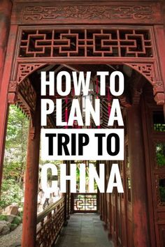 China can be difficult to travel to for first time visitors, here are some information on how to plan your first visit to this amazing country.