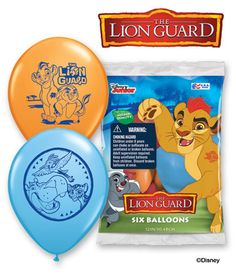 Lion Guard Latex Balloons 6pk