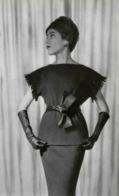 1959 Hubert de Givenchy /lnemnyi/lilllyy66/ Find more inspiration here: http://weheartit.com/nemenyilili
