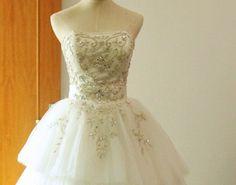 Alfred Angelo Disney Fairy Tale Wedding Dress Evening Gown. $205.00, via Etsy.