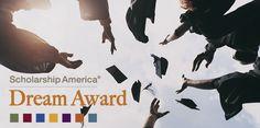 Scholarship America's Dream Award provides scholarships for college upperclassmen.