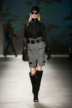 Kenneth Cole Fall 2013. My favorite part of the fall collections by Kenneth Cole are the gloves and the open-toed boots. It's edgy and chic and glamorous.