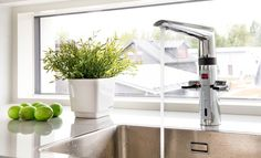 Oras Optima eco-friendly faucets with touchless technology