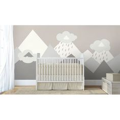 Looking for something cozy and lovely ideas for your baby room interior? Take a look at our one-of-a-kind Icy Mountains wall mural. If you want to use gra colors in your baby room interior mix in some brighter colors. Shop online our illustrated Icy Mountains non-woven wallpaper murals for a great price. Find more inspiring ideas for your nursery in our Kids image gallery or simply you can create Your own wall mural by uploading Your image (DIY wall mural) or select wall mural online (take…