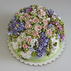 2159 Best Cake Flowers Spring Cakes Images In 2019 Buttercream