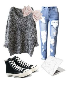 """Untitled #610"" by beddiann ❤ liked on Polyvore featuring Converse, Recover and Cara"