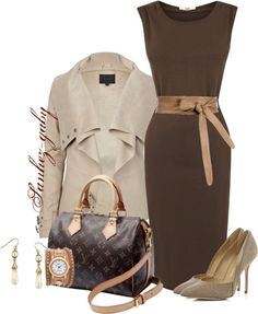 """Add a little Edge to the Dress"" by sanchez-gaby on Polyvore"
