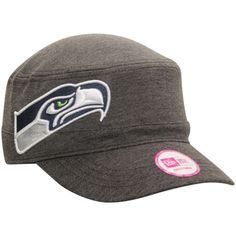 a4b82f9332b New Era Seattle Seahawks Women s Heather Black Night Faller Adjustable Hat