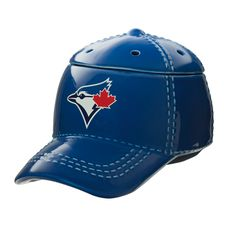 """Toronto Blue Jays™ MLB Scentsy Warmer It's hats off to America's favorite pastime with our NEW Major League Baseball™ Collection. These officially licensed warmers are """"stitched"""" with your team's logo and look great next to the game ball on your shelf. Scentsy, Wax Warmers, Favorite Pastime, Toronto Blue Jays, Major League, Baseball Cap, Major Baseball, Baseball Season, Mlb"""