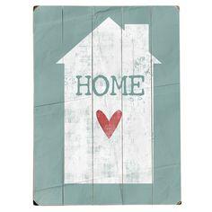 Home Heart Wall Art