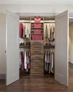 small closet ideas - Search