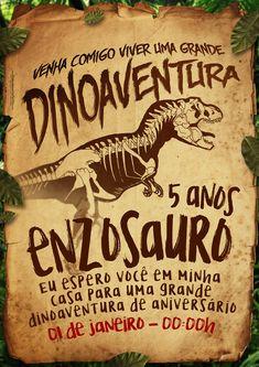 Festa Jurassic Park, Lego Jurassic, Jurassic World, Dinosaur Birthday Party, Boy Birthday, Baby Dino, Party Themes, Birthdays, Words
