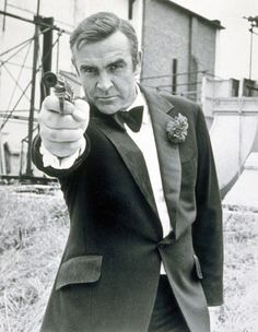 Sean Connery as James Bond in 'Diamonds Are Forever', 1971.