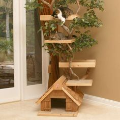 How to make having a cat look classy - Mature Cat Tree House
