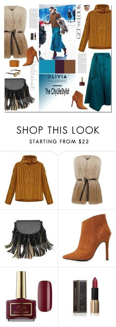 """Get the Look: Olivia Palermo"" by drn57 ❤ liked on Polyvore featuring Warehouse, Charlotte Russe and Ciaté"