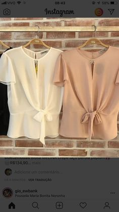 Simple blouse with front tie Xl Fashion, Fashion Outfits, Womens Fashion, Blouse Styles, Blouse Designs, Pakistani Fashion Casual, Moda Chic, Blouse Dress, Boho Tops